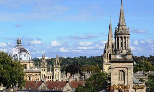 Оксфорд с башни Карфакс