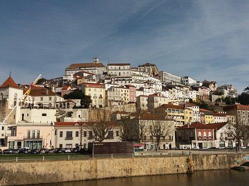 vista da ponte para Coimbra