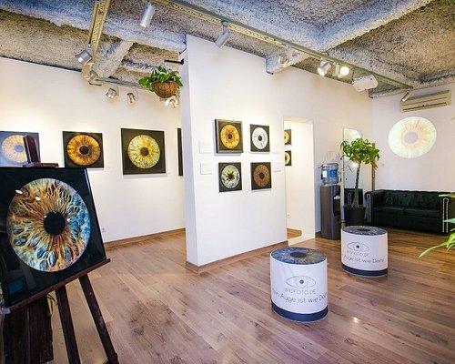 Una autentica galeria de arte