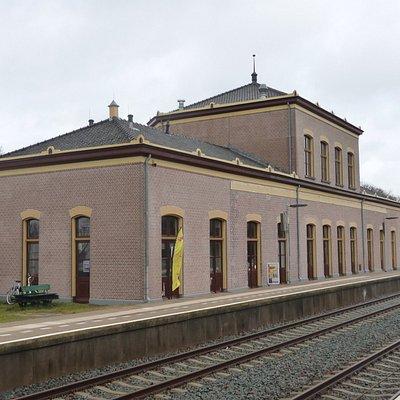 Station vanaf perronzijde