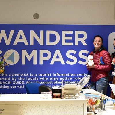 at WANDER COMPASS SHIBUYA