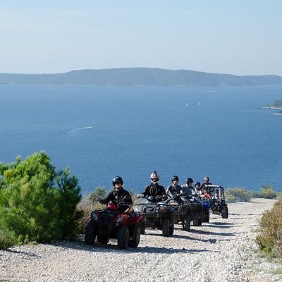 Quad Adventures tour on island from Split and Trogir