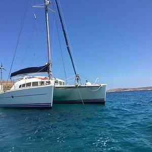 Catamaran Lagoon for rent in Malta