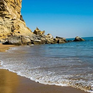 Kund Malir Beach 03008094313 Kund Malir' is a beach in Balochistan, in Hingol National Park, about 150 kilometres (93 mi) from Zero-Point on Makran Coastal Highway. The drive between Kund Malir and Ormara is considered to be scenic. Best to travel with family and friends in winters 03008094313