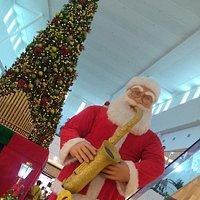Decoração de Natal do Shopping Park Sul