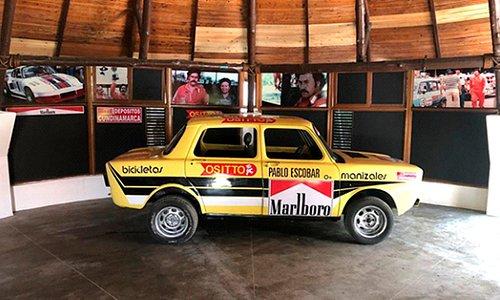 Carro en que Pablo Escobar corría en sus inicios como Piloto.