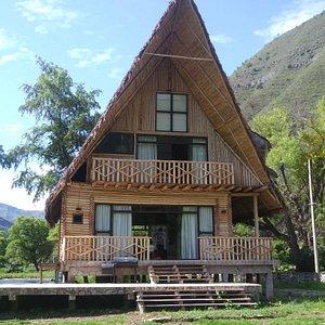 Bowngalous en. Casa hacienda Achamaqui