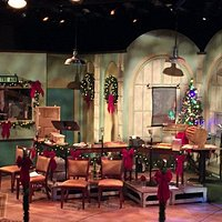 The Studio Theater set