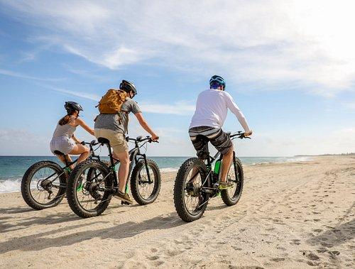 ebike beach, arroyo and mountain tour