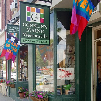 Storefront @ 145 High Street, Belfast, Maine offering only products Made in The USA.