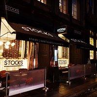 Stocks terrace