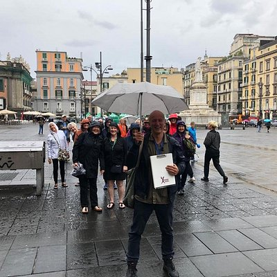 Antonio and his group in Naples