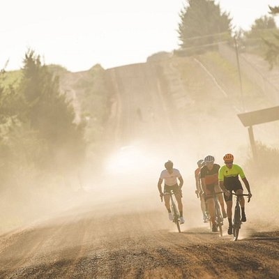 Another gorgeous shot of gravel riding around Stellenbosch, taken by professional cycling photographer Ewald Sadie.