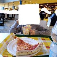 Pizza e Patatine