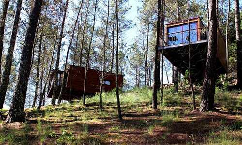 Treehouse Bungalows Geres