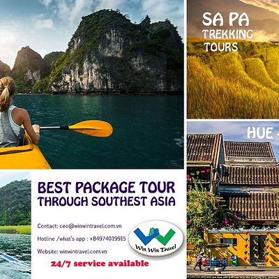 Win Win Travel is one of the best company offers all daily tours and packages throught southest asia. You will always get more then you pay if you go with Win Win Travel