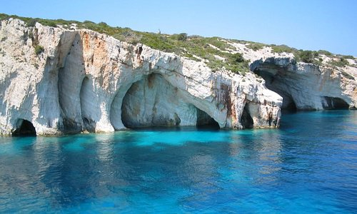 Close to The Blue Cave