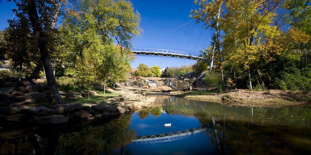 Falls Park, Greenville