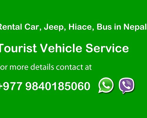 Rental Car, Jeep, HiAce, Bus in Nepal. Call us for details +977 9840185060 (Whatsapp/Viber available 24/7)