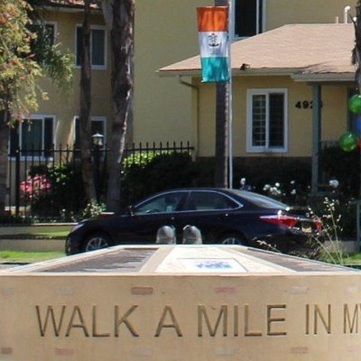 Walk a mile in my shoes memorial
