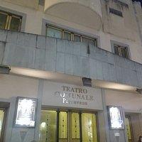 Esterno del teatro