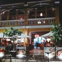 Restaurant Kampot Seafood & Pepper night time