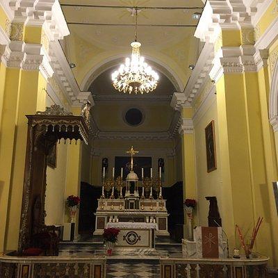 Particolari Esterno ed Interno della Concattedrale di Bisaccia (AV)