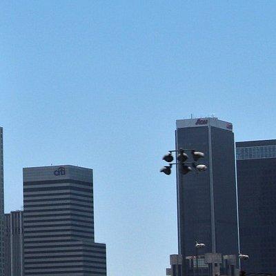 Tower and skyline