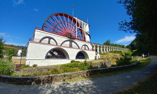 The amazing Laxey Wheel - Isle of Man (09Jul18).