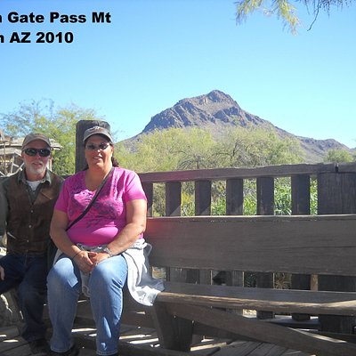 Gates Pass Mt. Old Tucson Studios AZ 2010. The most filmed mountain in the US.