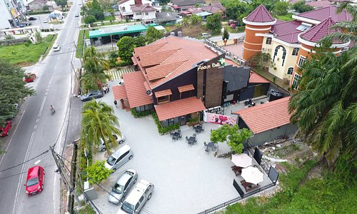 Drone view of Anson Bali Living
