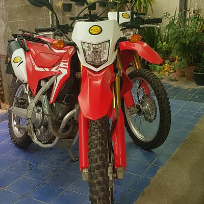 CRF250L for off road trips to Pai.