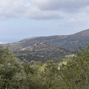 Old Praisos from the village of Nea Praisos