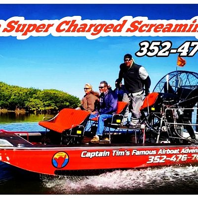 Take and Airboat Ride into Some of the Most Amazing Eco Systems in the Country .