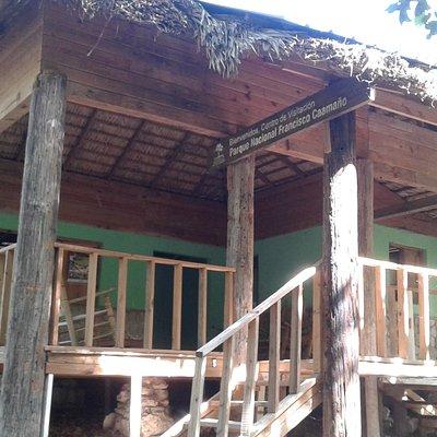 Visitors cabin