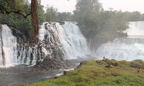 Part of the Kabwelume Falls