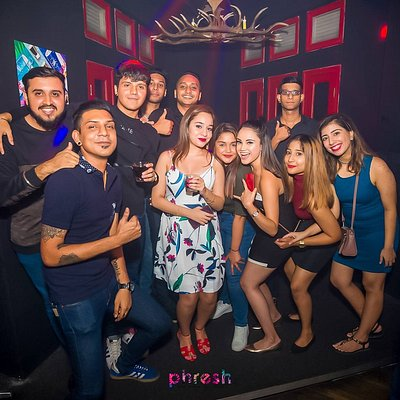 Phresh Club party-goers  Great for birthday celebration!