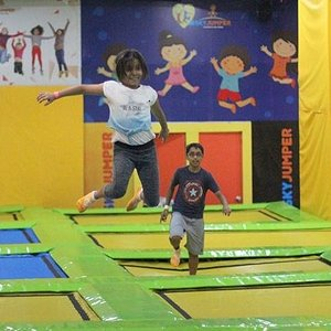 Fun at Skyjumper