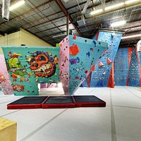 Tons of routes and more boulders for ALL levels of climbers