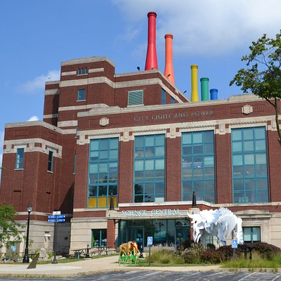 Science Central's building used to be the City Light & Power Plant, built in 1929.