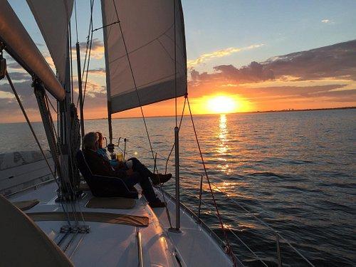 Sunset on Biscayne Bay