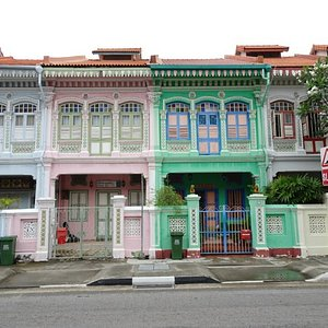 Peranakan Houses Singapur