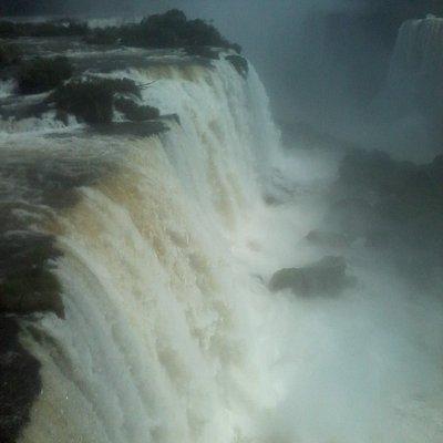 Cataratas de Foz do Iguaçú.
