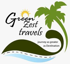 Green Zest travels Logos