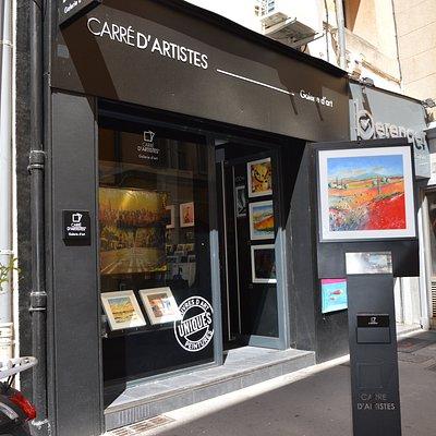Au cœur d'Aix en Provence, venez découvrir un panel d'artistes soigneusement sélectionné par notre département artistiques.