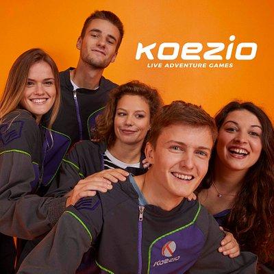 Pour votre prochaine sortie entre potes, en famille ou avec vos collègues osez la mission Koezio : délirant, déconnectant et surprenant 💪😎