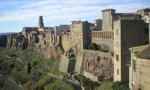 borgo di Tuscania basso lazio etrusco piccolo gioiello da condividere.