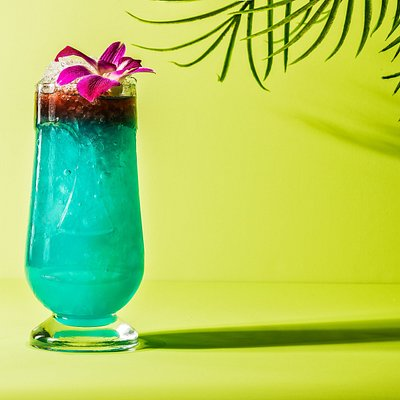 Rhumbar Blue Hawaii