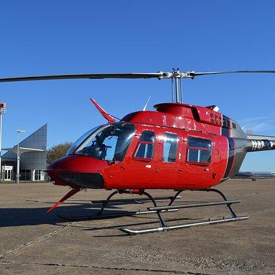Bell 206 Long Ranger Helicopter