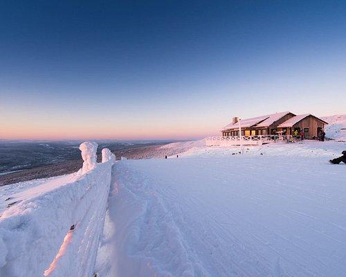Restaurang Toppen på Skalsfjället 946 m.ö.h.